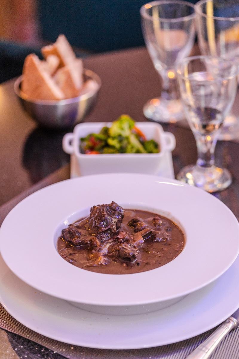 Plat Bourguignon maison restaurant fes le mauresk
