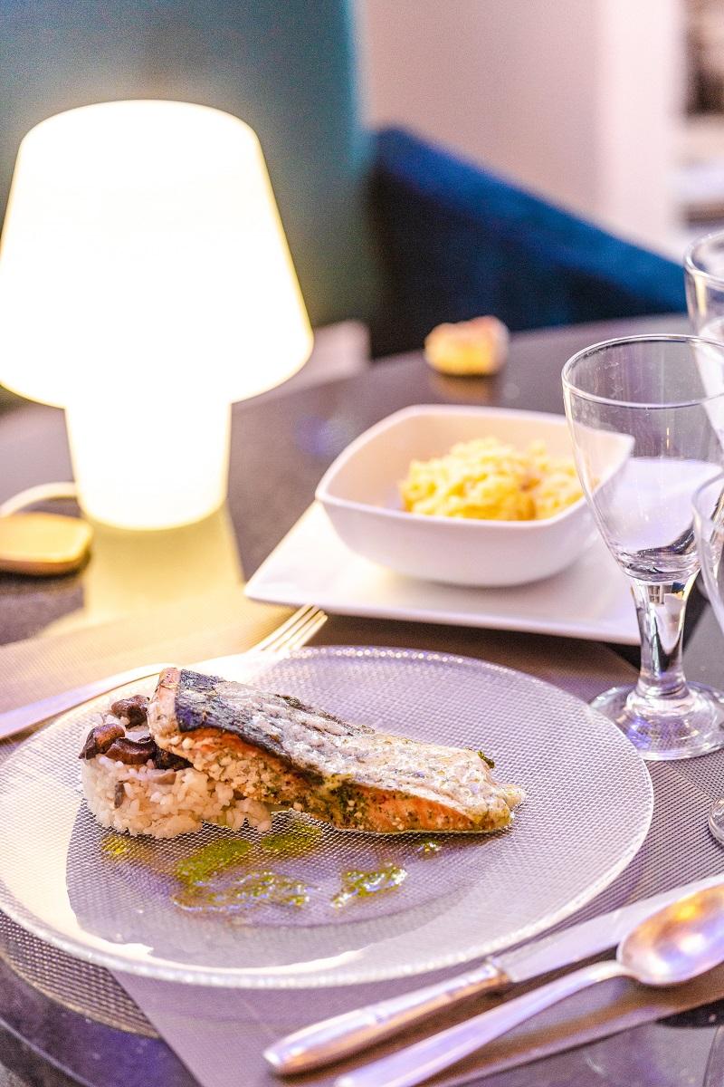Plat poisson surex le mauresk restaurant fes